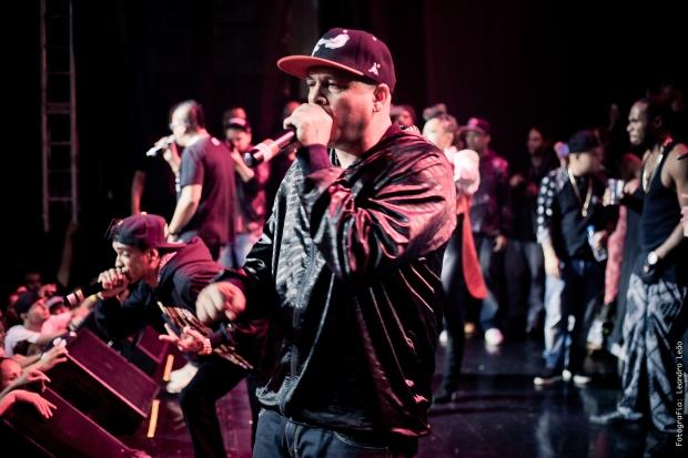 Rzo e Bone Thugs-n-Harmony Foto por Leandro Dazo
