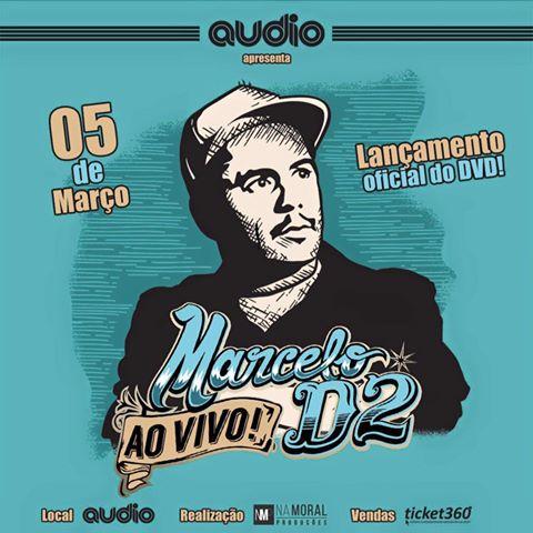 Gravação DVD Marcelo D2